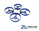 ZealHeli ZH 75mm Brushed Whoop Kit + 4pcs 40mm Propellers (Blue)