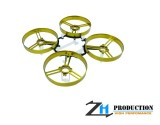 ZealHeli ZH 75mm Brushed Whoop Kit + 4pcs 40mm Propellers (Gold)