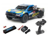 Team Associated ProSC 4x4 1:10 RTR Brushless Truck w/LiPo Battery & Charger 7063C (BLUE)