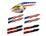 Microheli Canopy Eagle Head & 4 Pairs Of Plastic Blade - BLADE 130X