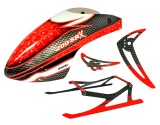 Microheli Blade 200 SR X Support Upgrade combo (RED) - BLADE 200 SRX
