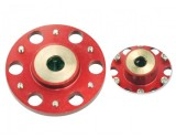 Microheli Aluminum Auto-Rotation Hub (RED) (for MH-2SRX167/X)