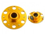 Microheli Aluminum Main Gear Hub (GOLD) (for MH-2SRX269/X)