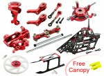 Microheli CNC Blade 300X Performance package (RED) - BLADE 300X