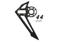 Microheli Carbon Fiber Vertical Fin (for MH Tail Motor Mount w/ Fin set series)