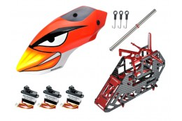 Microheli Advanced X Frame (RED) - BLADE 130 S