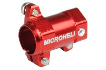 Microheli Aluminum Tail Motor Mount (RED) (for MH Tail Motor Mount w/ Fin set series)
