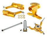 Microheli CNC Blade 180 CFX Power package (GOLD) -BLADE 180 CFX / 150 S