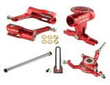 Microheli CNC Blade 180 CFX Power package (RED) -BLADE 180 CFX / 150 S