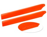 Microheli Plastic Main Blade 155mm (ORANGE) - BLADE 180 CFX
