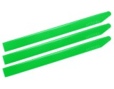 Microheli Plastic Triple Main Blade 155mm (for MH-18FX001T series) (GREEN)