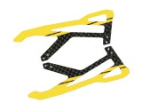 """Microheli Carbon Fiber Landing Skids """"Y"""" Style (G) (for MH Landing Gear series)"""