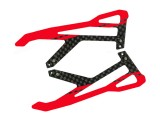 "Microheli Carbon Fiber Landing Skids ""Y"" Style (R) (for MH Landing Gear series)"