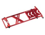 Microheli 7075 Aluminum Bottom Frame (RED) - BLADE 180 CFX