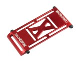 Microheli 7075 Aluminum Battery Tray (RED) - BLADE 180 CFX