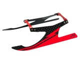 "Microheli Aluminum/Carbon Fiber Landing Gear ""I"" Style (RED) - BLADE 180 CFX / 150 S"