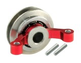 Microheli Double Bearing Titanium Tail Pitch Slider (RED) - BLADE 180 CFX