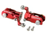 Microheli 7075 Triple Bearing Weighted Tail Blade Grip set (RED) - BLADE 180 CFX