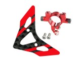 Microheli Aluminum Tail Boom Support Mount w/ Fin (R) - BLADE 180 CFX