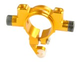 Microheli Aluminum Tail Boom Support Mount (GOLD) - BLADE 180 CFX