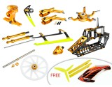 Microheli CNC Blade 230 S Performance package (GOLD) - BLADE 230 S