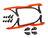 """Microheli Carbon Fiber Landing Skids """"A"""" Style (R) (for MH Landing Gear series)"""
