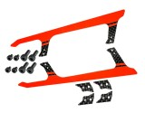 "Microheli Low Profile Carbon Fiber Landing Skids ""U"" Style (R) (for MH Landing Gear series)"