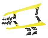 "Microheli Low Profile Carbon Fiber Landing Skids ""U"" Style (Y) (for MH Landing Gear series)"