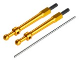 Microheli Aluminum Canopy Mount set (GOLD) - BLADE 230 S / 230S V2