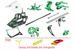 Microheli CNC Blade 230S V2 Performance package (GREEN) - BLADE 230S / 230S V2