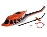 Microheli Airbrush Fiberglass Bell UH-1 Huey Scale (OR) - BLADE 230S / 230S V2