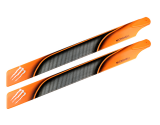 """Microheli Plastic Main Blade 240mm """"D"""" Style - BLADE 230S / 230S V2"""