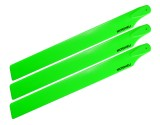 Microheli Plastic Triple Main Blade (For MH-23V2001TGR Series)(GREEN)