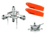 Microheli CNC Triple Blade Conversion set - BLADE 450X / 330X / 330S