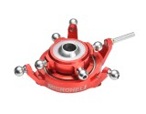 Microheli Precision CNC Aluminum Swashplate (RED) - BLADE 330X/450X/450 3D