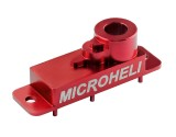 Microheli Aluminum Upper Servo Case (RED) (for Spektrum H2060)
