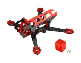 Microheli Carbon Fiber Frame (RED) - EMAX Tinyhawk Freestyle 115mm