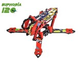 Microheli EUPHORIA 120 Racing Frame Kit (RED)