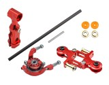 Microheli CNC Power package (RED) - ESKY 150X / BLADE 70 S
