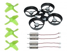 Microheli Molded Carbon Fiber Ducted Frame Power Package - Blade Inductrix FPV / PRO