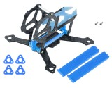 Microheli Carbon Fiber Frame Without Ducted (BL) - MOBULA6 HD