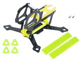 Microheli Carbon Fiber Frame Without Ducted (YL) - MOBULA6 HD
