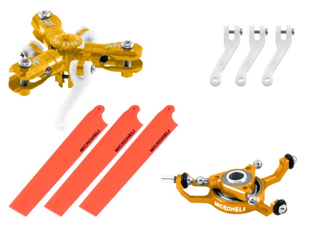 RED Microheli CNC Blade mCPX BL Performance Package MCPXBL