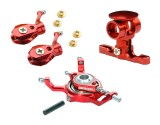Microheli CNC Blade mCP S Power package (RED) - BLADE MCPS