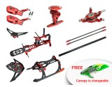 Microheli CNC Master CP Performance Package (RED) - WALKERA MASTER CP