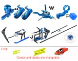 Microheli CNC Performance Package (BLUE) - BLADE NANO S2