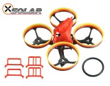 Microheli Osolar 70 Quad Tiny Frame for Brushless Motor 0603 0703 1103 Prop 40mm