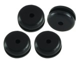 Microheli Rubber Canopy Grommets - OMP Hobby M2