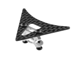 Microheli Aluminum Tail Boom Support Mount w/ Fin -WLTOYS V950
